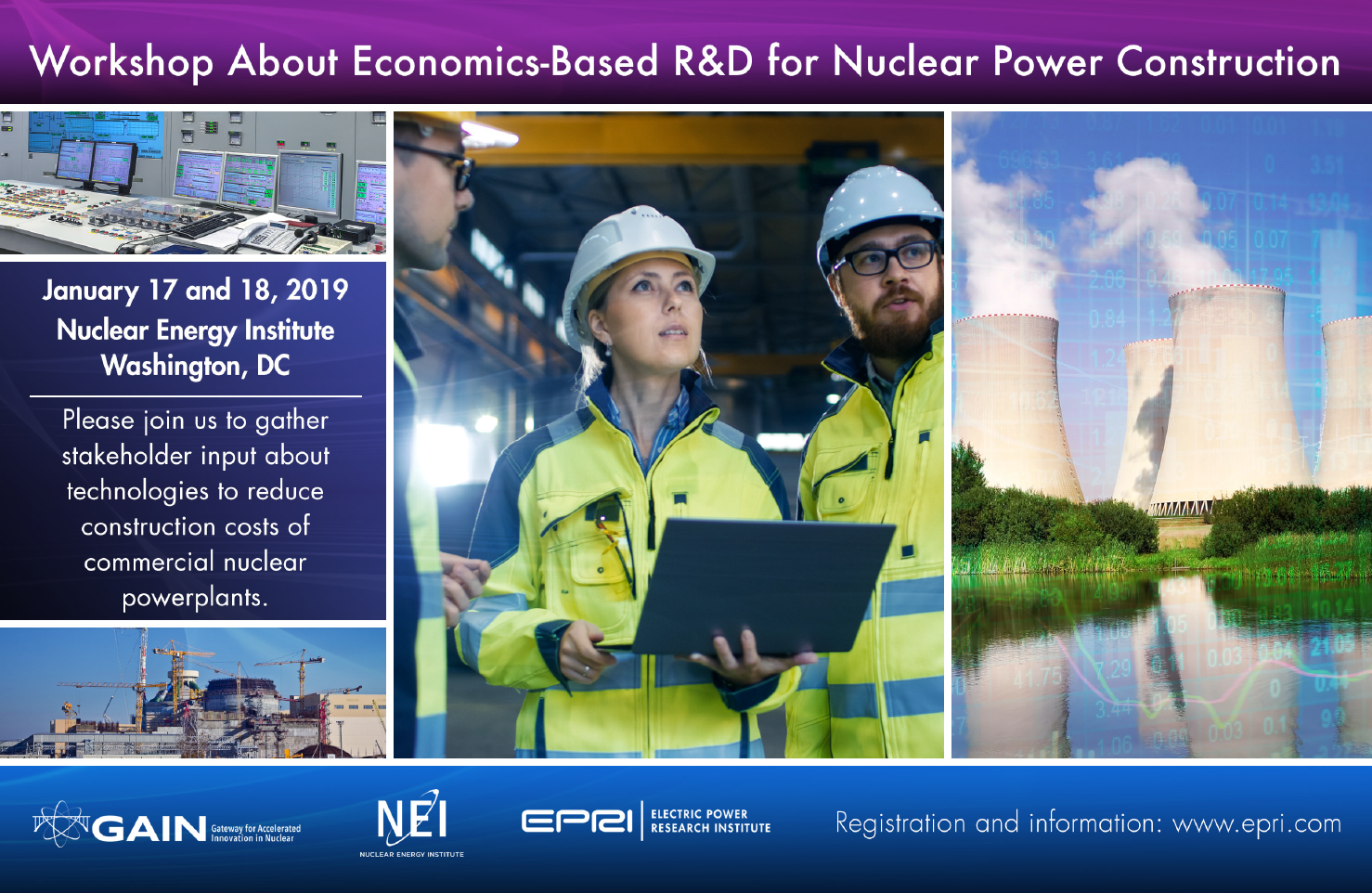 Image about the Workshop about economics-based R&D for Nuclear Power Construction